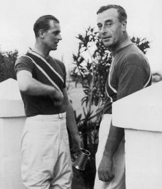 Prince Philip, Duke of Edinburgh (left) with his uncle Louis Mountbatten - after a polo match, in which they played for the Shrimps team, Malta, December Young Prince Philip, Prince Phillip, Princess Victoria, Queen Victoria, Maria Polo, Queen Husband, Hesse, Photos Of Prince, Elisabeth Ii
