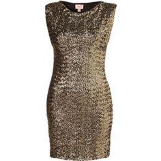 Topshop Sequin dress Sequin front dress by topshop. Brand new never worn Topshop Dresses
