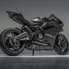 Stealth Black Ducati