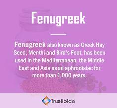 Know more about #Fenugreek @ http://truelibido.com/fenugreek