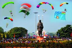 Thriller air show organized by the Indian Air Force At Gandhinagar