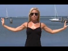 Tracy Anderson Sexy Arms  for Beginners (4 min). The full arms workout is 12 min.
