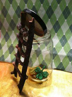 St. Patrick's Day: Cute DIY Leprechaun Trap