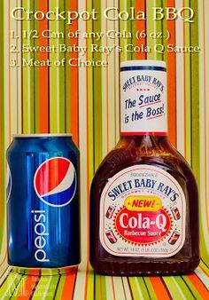 Musings from Bucks Mountain: Crockpot Cola 'n BBQ