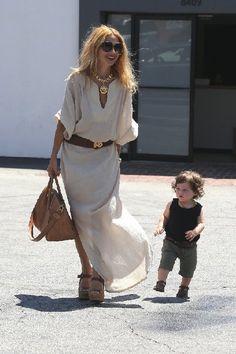 Rachel Zoe and her fabulous son. Obsessed