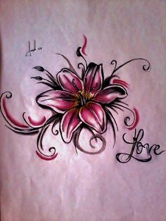 Lily Tattoo by LeSweetLou.deviantart.com on @deviantART