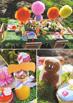 The Lorax party theme....so cute!!