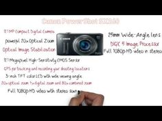 Great digital Camera Review --  Canon Powershot SX260 Review