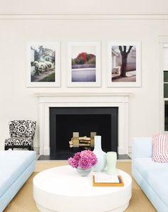Hamptons Living room.