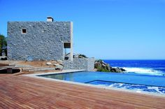 2 Casas de playa en Punta Pite / Izquierdo Lehmann Arquitectos, Chile http://www.arquitexs.com/2012/07/2-casa-de-playa-en-punta-pite.html