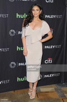 Actress Shay Mitchell arrives at The Paley Center For Media's 34th Annual PaleyFest Los Angeles - 'Pretty Little Liars' at Dolby Theatre on March 25, 2017 in Hollywood, California.