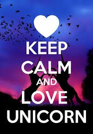 Resultado de imagen para keep calm unicorn