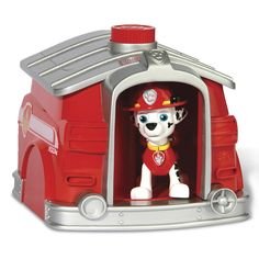 Paw Patrol is on a roll! Prepare to save Adventure Bay with the Paw Patrol Pup 2 Hero Playset! Watch Marshall magically transform from off-duty pup to rescue-ready pup! Simply place off-duty Marshall into into his doghouse and rotate the knob at the top of the doghouse for a magical pup transformation! Now Marshall's ready to save the day. Re-create all your favorite Paw Patrol rescue missions with Pup 2 Hero Marshall! Together, your child's imagination will be lit up with pup inspired…