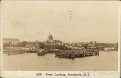 Ferry Landing Jamestown Rhode Island