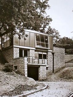 Meudon Housing   Jean Prouvé   1949   Experimental cold-rolled steel frame