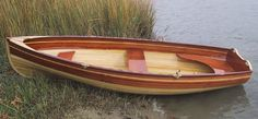 Someday I'd like to build a cedar-strip boat, like this one, for example. - Hobbies paining body for kids and adult Plywood Boat Plans, Wooden Boat Plans, Kayak Boats, Canoe And Kayak, Canoe Trip, Fishing Boats, Boat Blinds, Wood Canoe, Wooden Sailboat