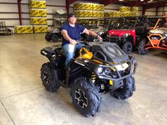 Thanks to Daniel Crosby from Taylorsville MS for the purchase of a 2015 Can-Am Outlander Xmr 650. Hattiesburg Cycles appreciates your business!