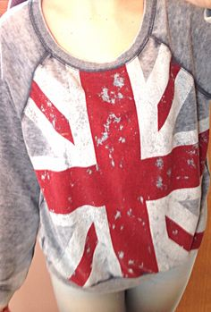 Remember when everyone went through that British Flag clothing phase? I'm still going through it