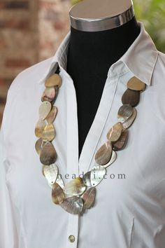Graduated Layers Overlapping Blacklip Teardrop Shell Necklace - Neadri.com Shell Jewelry, Shell Necklaces, Unique Fashion, Philippines, Shells, Fashion Accessories, Layers, Bracelets, Earrings