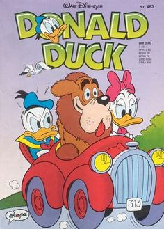 Cover for Donald Duck (Egmont Ehapa, 1974 series) Retro Cartoons, Old Cartoons, Classic Cartoons, Vintage Cartoon, Disney Cartoons, Cartoon Art, Disney Pixar, Walt Disney, Classic Cartoon Characters