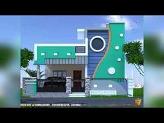 Village House Design, Duplex House Design, House Front Design, Village Houses, South Facing House, Independent House, House Elevation, Hindi Movie, Movie Film