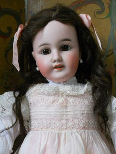 ~~~ Most Beautiful Large French Bisque BeBe by Leon Prieur ~~~ from whendreamscometrue on Ruby Lane
