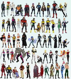 The X-men. A collection of my x-men stuff from the last couple of years. Inspired by the DCAU movies and shows and other animated shows. X-men Comic Book Artists, Comic Book Characters, Marvel Characters, Comic Character, Character Design, Comic Books, Marvel Comics, Marvel Comic Universe, Marvel Heroes