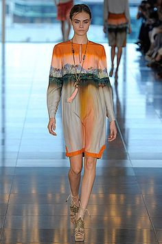 cara delevingne - matthew williamson - lfw
