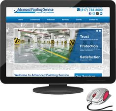 New website launched for Dallas based Advanced Painting Service. http://www.advancedpaint.com/