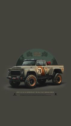 Car Illustration, Illustrations, Crea Design, Cool Car Drawings, Car Posters, Unique Cars, Automotive Art, Modified Cars, Car Painting