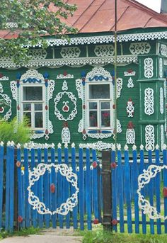 the russian house. Tver area