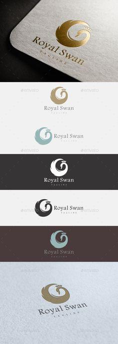 Royal Swan Logo Template #design #logo Download: http://graphicriver.net/item/royal-swan-logo/11891490?ref=ksioks