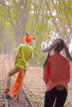 Judy Hopps & Nick Wilde (Zootopia)