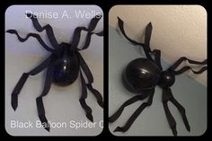 My balloon spider is on the right.