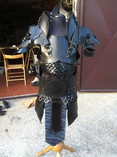 NIGHTMARE LEATHER ARMOR Complete Set Made to by AGLeatherDesign