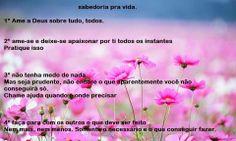 Cleidemir Gonçalves: Sabedoria pra vida...