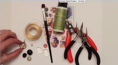 VIDEO: How To Create A Double Sided Pendant Using Collage Sheets, Glass Domes, Epoxy Clay and Wire - Nunn Design