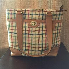 Plaid Coach Purse This gently used plaid Coach purse is in excellent condition. Coach Bags