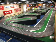 Slot Car Track Layouts | JD Model Raceway (Worlds Largest Track) - Slot Car Illustrated Forum