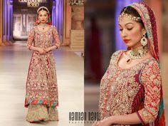 Nomi Ansari Bridal Wear Collection at Pantene Bridal Couture Week 2012 Bridal Dresses 2015, Pakistani Bridal Dresses, Wedding Dress Trends, Party Wear Dresses, Bridal Lehenga, Dresses 2014, Shaadi Lehenga, Wedding Ideas, Bridal Outfits