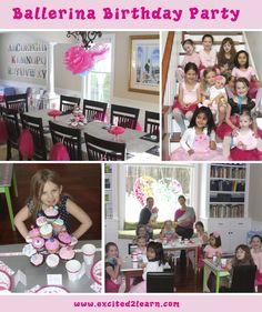 A Ballerina Birthday Party
