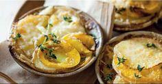 Potato and butternut gratin Baking Recipes, Vegan Recipes, Braai Recipes, Make Ahead Meals, Recipe Search, Vegetarian Cooking, Vegetable Dishes, Delicious Desserts, Potatoes