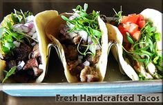 $1 chef's choice tacos Wed., / $2 tequila. red pepper taqueria