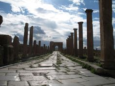 Picture of the Day: An 1,800 Year Old Roman Road inAfrica