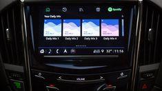 L'app Spotify incorporata nella console Cadillac è concepita per l'ascolto in pendenza