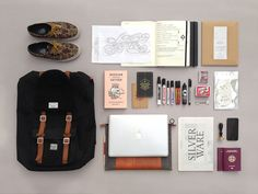 Things Organized Neatly SUBMISSION: Essentials in a bagbySay What Studio