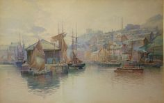 View of South Harbour; George Nelson 1898: