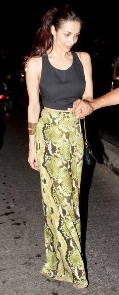 Malaika Arora Khan spotted at Olive. #Style #Bollywood #Fashion #Beauty