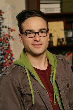 "Johnny Galecki as Leonard Hofstadter in ""The Big Bang Theory"""