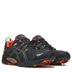 13901937b1b0 ASICS GEL-Venture 5 Trail Running Shoe Charcoal Black Orang Trail Shoes